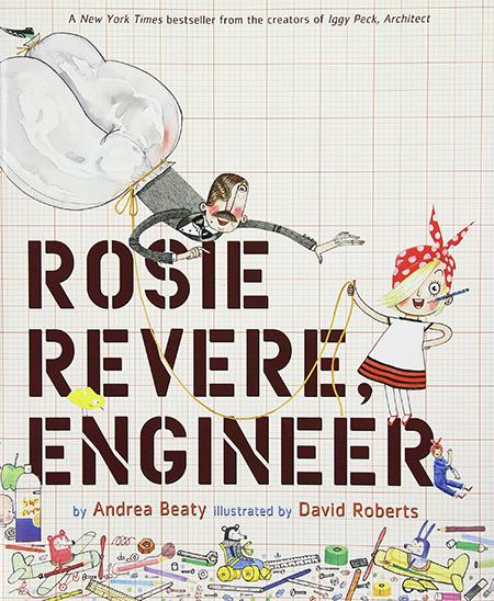 Rosie Rever, Engineer - summer reading