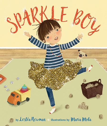 Sparkle Boy - summer reading