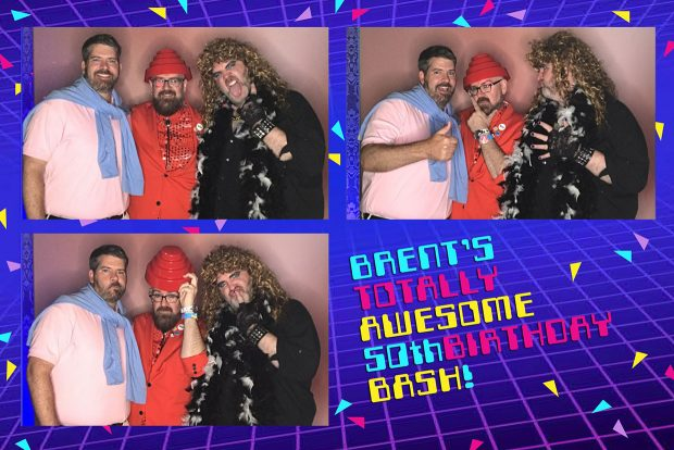 50th Birthday Party photo booth