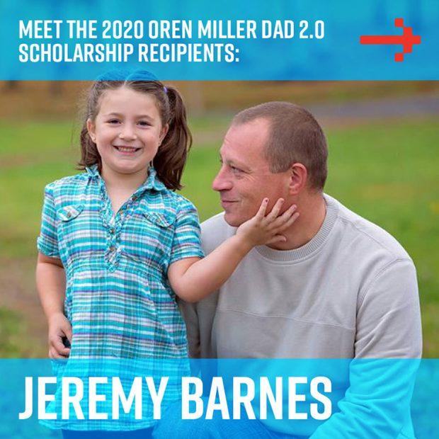 Jeremy Barnes - Dad 2 Summit scholarship recipient