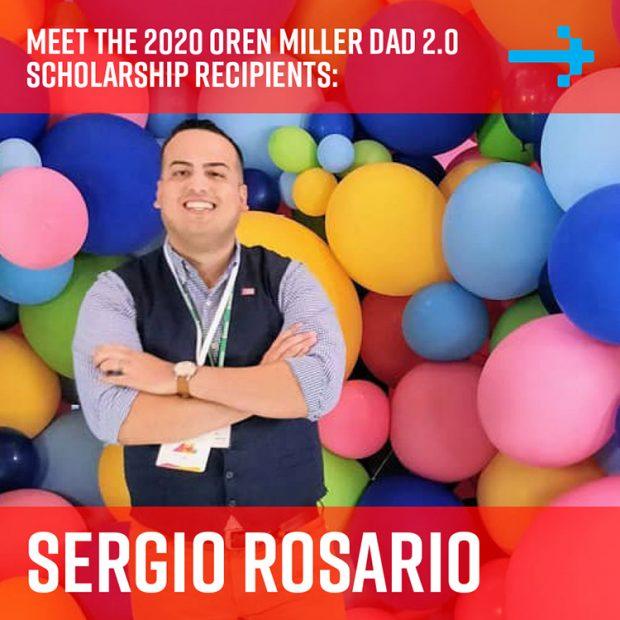 Sergio Rosario - Dad 2 Summit scholarship recipient