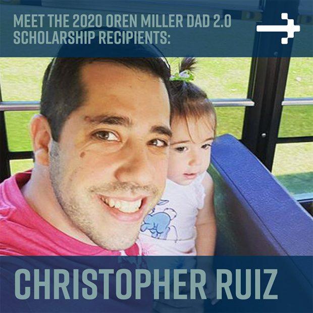 Chris Ruiz - Dad 2 Summit scholarship recipient