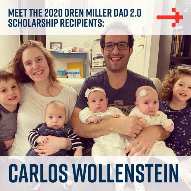 Chris Wollenstein - Dad 2 Summit scholarship recipient