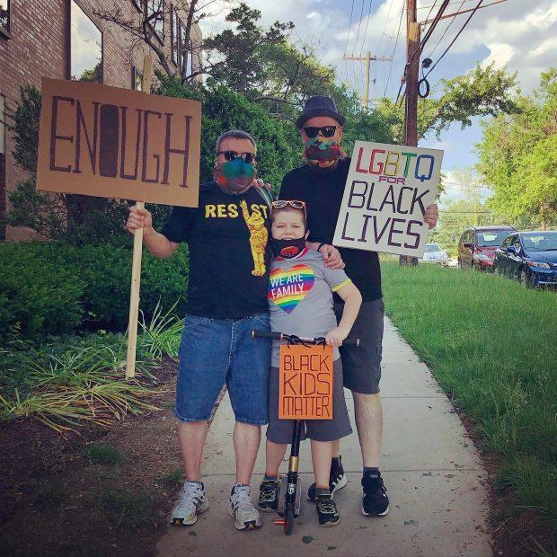 Black Lives Matter - family