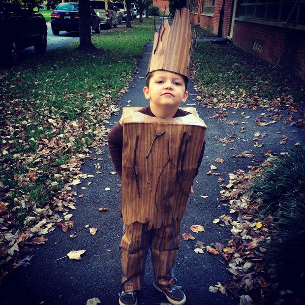 Groot Halloween Costume DIY