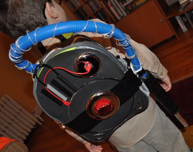 Ghostbusters DIY Halloween costume