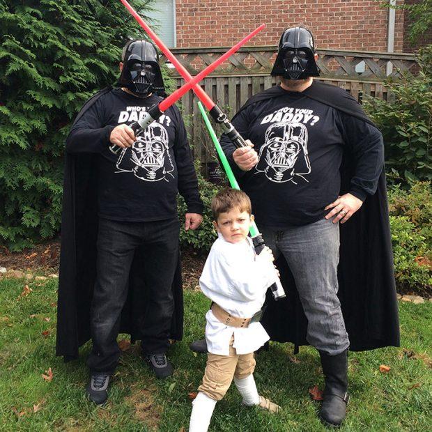 Luke Skywalker Darth Vader Star Wars