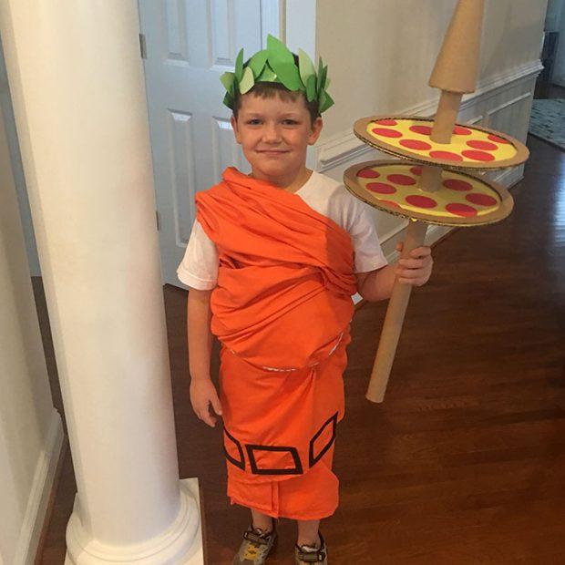 Little Caesar Halloween costume