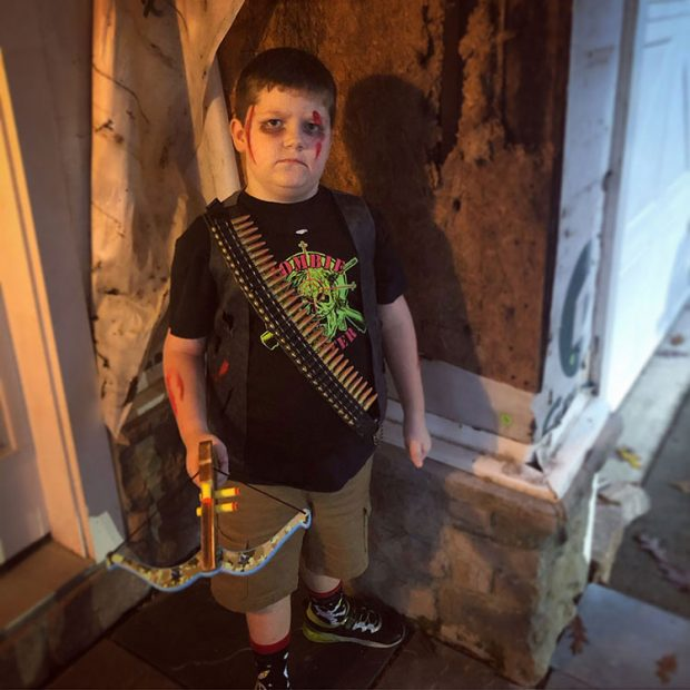 Zombie Hunter Halloween Costume