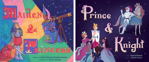 Prince and Knight / Maiden and Princess - LGBTQ Children's Books