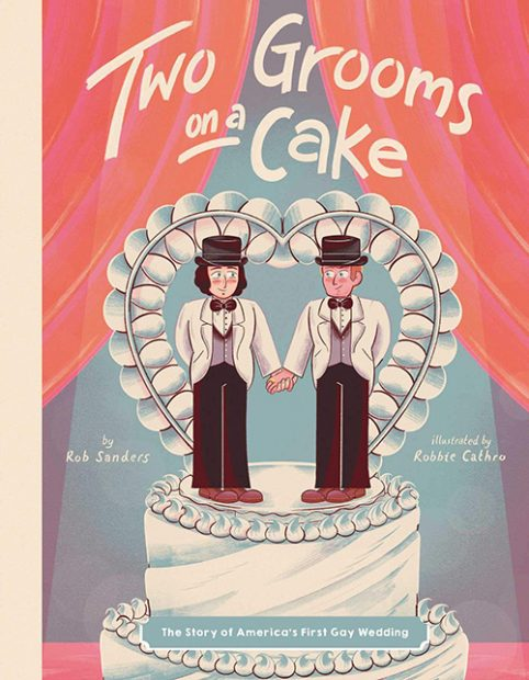 Two Grooms on a Cake - LGBTQ Children's Books