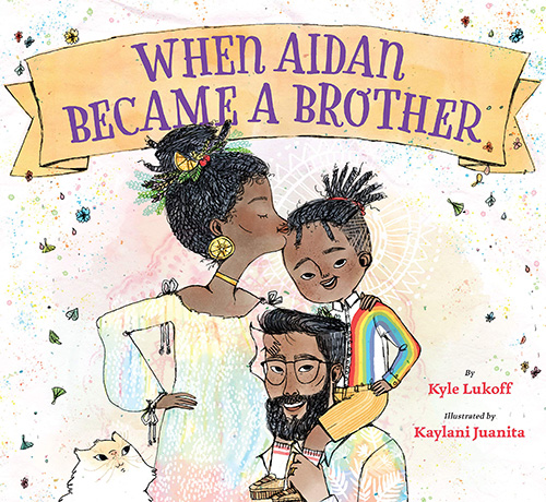 When Aiden Became A Brother - Trans books for kids