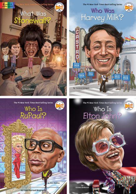 Who Was series -- LGBTQ Children's Books