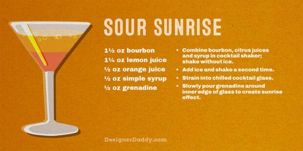 Summer Cocktails - Sour Sunrise