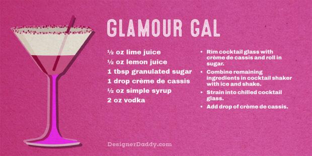 LGBTQ Pride Cocktails - Glamour Gal