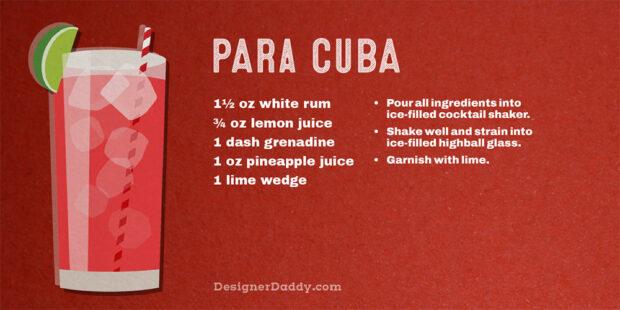Summer Cocktails - Para Cuba